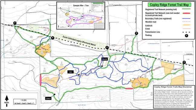 Lantzville Woodlot Trails September 2015